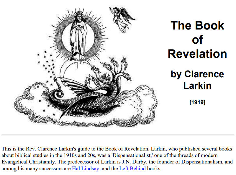 The Book of Revelation, Clarence Larkin 1919